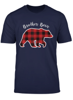 Brother Bear Men Red Plaid Christmas Pajama Family Gift