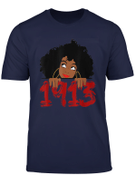 Delta Sorority Dst 1913 Sigma Theta Paraphernal T Shirt Gift