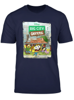 Disney Big City Greens Poster Cricket And Family T Shirt