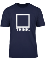 Think Out Side The Box T Shirt Clever Querdenker