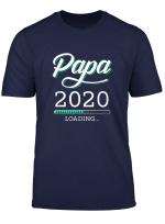 Herren Papa 2020 Loading Lustiges T Shirt Fur Werdende Vater