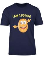 I Am A Potato Halloween Costume Funny T Shirt