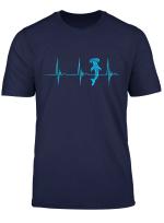 Haifisch Hammerhai Herzschlag Ekg Pulslinie Fisch T Shirt