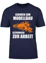 Herren Dampflok Modellbau Eisenbahn Dampflokomotive Geschenk T Shirt