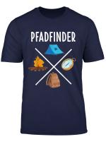 Pfadfinder T Shirt Zelten Lagerfeuer Campen Geschenk