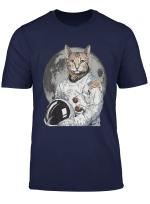 Cat In Space T Shirt Astronaut Cat T Shirt Space Cat T Shirt