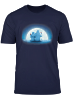Coca Cola Christmas Polar Bears Moonlight Portrait T Shirt