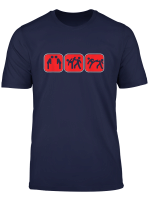 Taekwondo Kampf Kimono Kampfkunst Schwarzer Gurtel Geschenk T Shirt