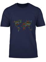 Weltkarte Mit Hallo In Verschiedenen Sprachen