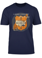King Burn The Ships Made Fans Excited T Shirt