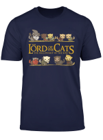 Lord Of The Cats Funny Cat Rings Lover T Shirt