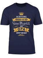 Herren Lustiges Geschenk Pullover Bester Opa Konig Majestat Krone T Shirt
