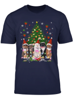 Cat Christmas Funny Shirt Meowy Christmas Tree Cat T Shirt