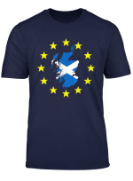 Eu Flag Europe European Union T Shirt Scotland Map Gift