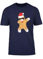 Weihnachtsmann Dabbing Lebkuchenmann Dab Weihnachts T Shirt
