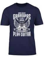 Mens Great Grandpa Grandfather Guitar Guitarist Musician Band T Shirt