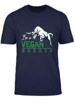 Vegan T Shirt Knallharter Veganer Geschenk Veganismus Shirts