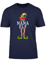 Mama Elf Matching Family Group Christmas Gift Pajama T Shirt