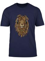 Marley Rasta Dreadlock Lion For Bob Lover Long Sleeve T Shirt