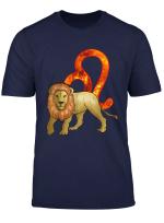 Lustiger Lowe Sternzeichen Astrologie Horoskop Geschenk T Shirt