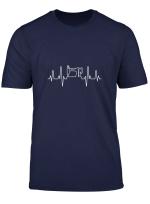 Damen Schneider Nahmaschine Herzschlag Naherin Geschenk T Shirt