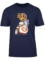 Star Wars Rise Of Skywalker Droids Collage T Shirt