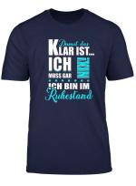 Rente Ich Bin Im Ruhestand Rentner Tshirt