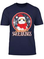 Star Wars Porg Seasons Squeakings Santa Christmas T Shirt