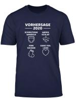 Papa 2020 Lustige Werdende Vater Daddy Uberraschung T Shirt