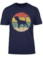 Circular Retro Beagle Owner Gift Tricolor Beagle Dad Mom T Shirt