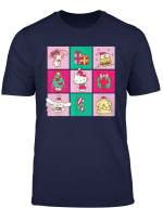 Sanrio Hello Kitty Friends Happy Christmas Holiday T Shirt