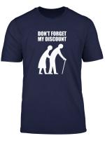 Senior Citizen Discount Elderly Old People Funny Tshirt Gift