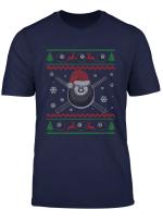 Christmas Billiards Pool Snooker Sport Player Funny Gift T Shirt
