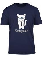 Katze Choupette Mit Anzug Und Brille Geschenk