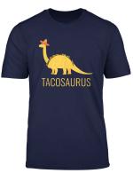 Cinco De Mayo Tacosaurus Brontosaurus Funny Pun T Shirt