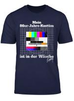 Testbild 80Er Jahre Kostum Ist In Der Wasche Retro Outfit T Shirt