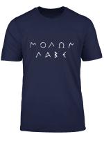 Vintage Molon Labe T Shirt