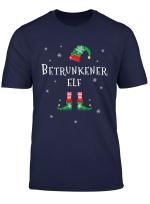 Herren Betrunkener Elf Weihnachtsoutfit Geschenk Fur Weihnachten T Shirt