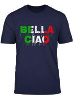 Fan Shirt Bella Ciao Serie Italien Flagge Geschenkidee