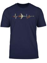 Vintage Pilot Heartbeat Shirt Pilot Shirt Gift