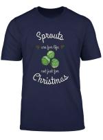 Rosenkohl Weihnachtslustiges Frohliches Sproutmas T Shirt T Shirt