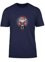 Frohe Weihnachten Christmas Advent Fest Geschenke Motorrad T Shirt