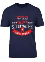 Herren Bester Stiefvater Der Welt Beste Geschenk Fur Den Stiefpapa T Shirt