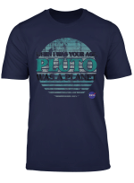 Nasa My Age Pluto Was A Planet Graphic T Shirt