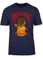 Trick R Treat Funny Cute Sam Halloween 2019 Costume T Shirt