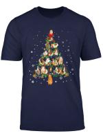 Cute Guinea Pig Christmas Tree Gift Decor Xmas Tree T Shirt