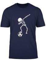 Dabbing Skelett Dab Fussball Gerippe Bekleidung Fur Kinder T Shirt