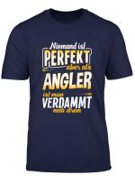 T Shirt Angler Geschenk Angeln Angel Fischer Fische Spruch