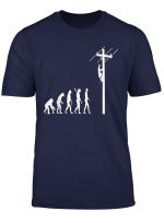 Netzelektriker Elektriker Evolution Entwicklung T Shirt