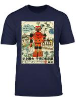 Vintage Retro Japanese Toy Robot Robotics Gift T Shirt
